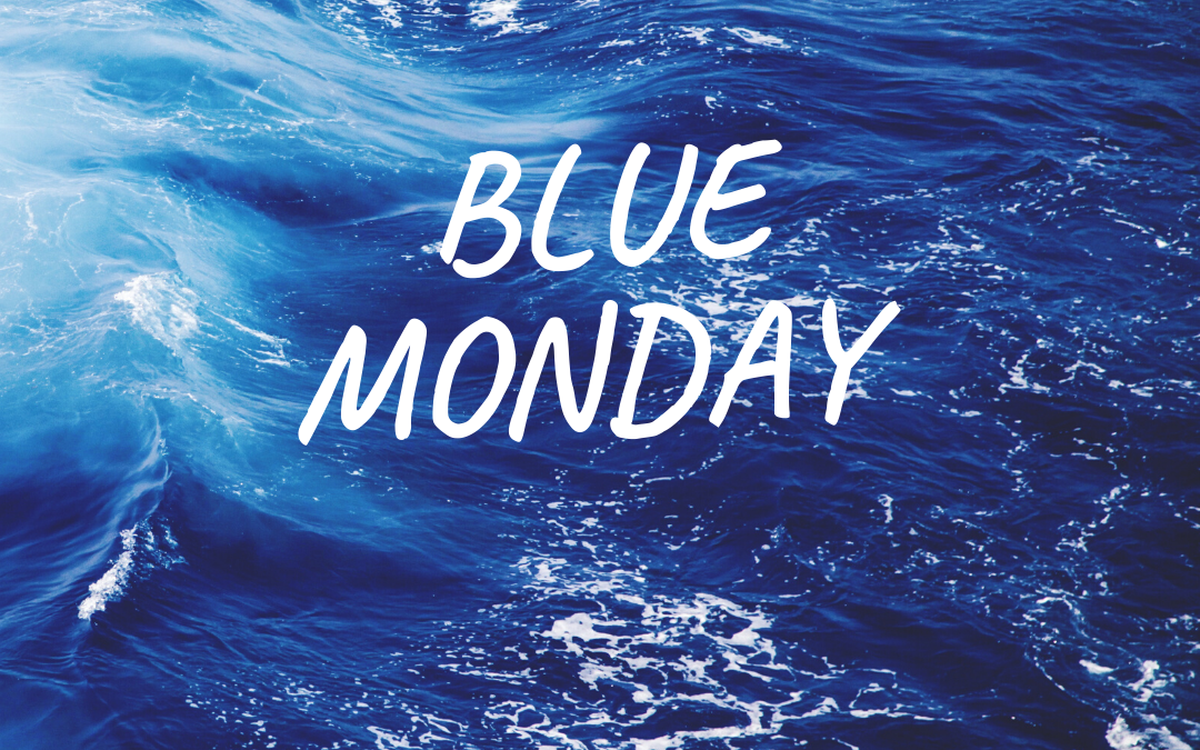 Blue Monday: Paint with a different colour!