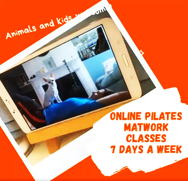 Online Pilates Classes 7 Days a week