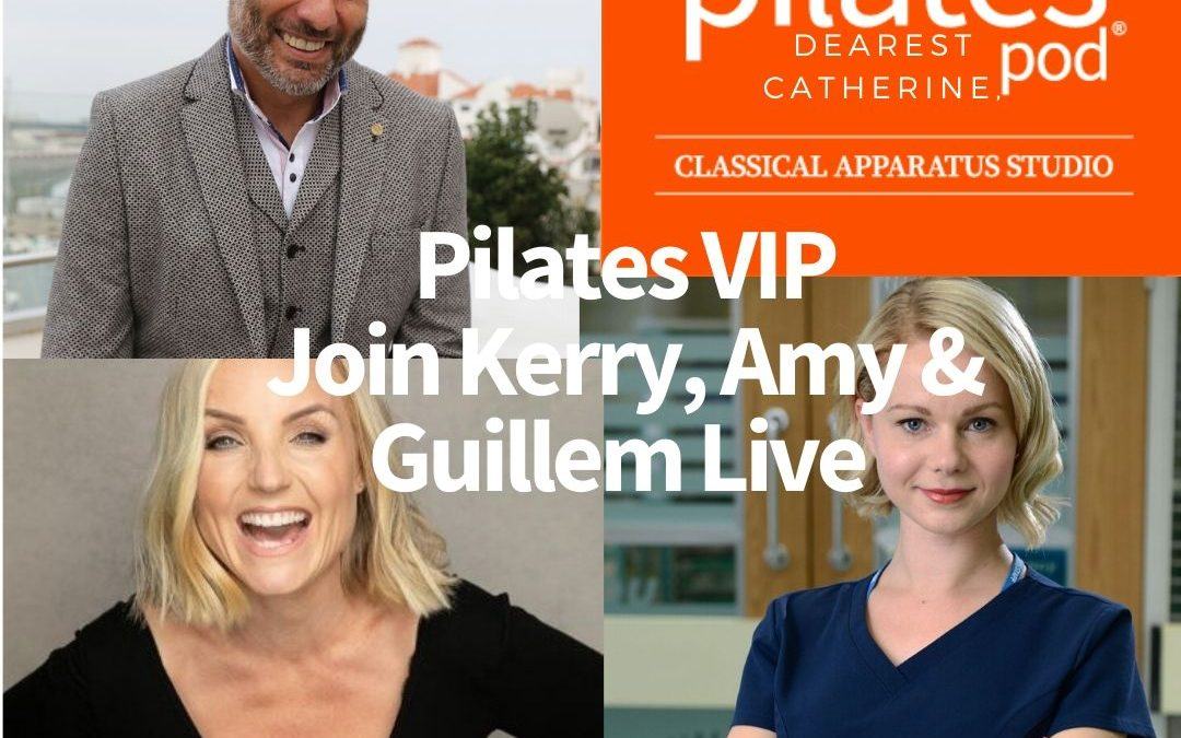 Pilates VIP: Join Kerry Ellis, Amy Lennox and Guillem Balague for a Live Pilates session with Michelle!
