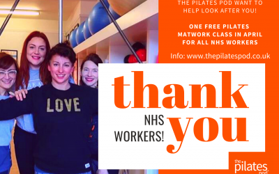 Free Class for NHS Workers- THANK YOU!