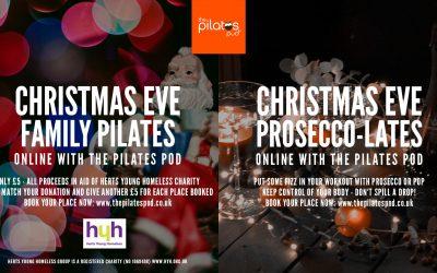 Christmas Eve Pilates at the Pilates Pod