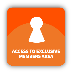 Access to exclusive members area content