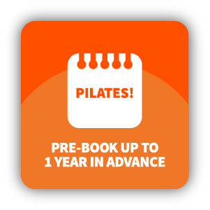 Pre Book Pilates Pod Sessions up to one year in advance